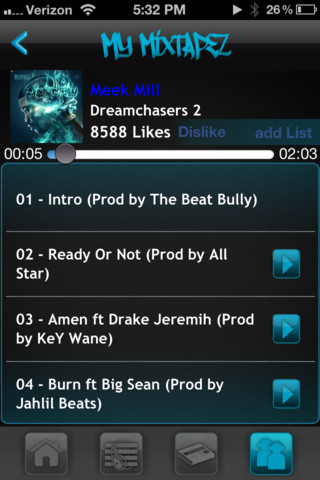 My Mixtapez is now available on the App Store!!! Better than