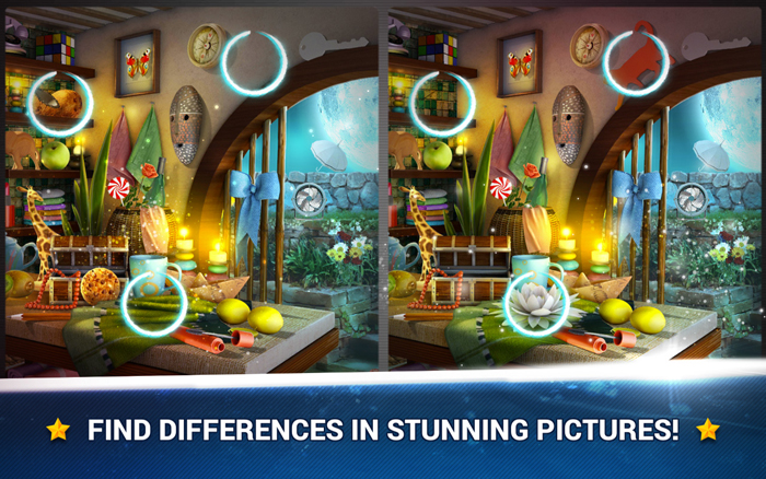 One Hidden Objects Game, One Find The