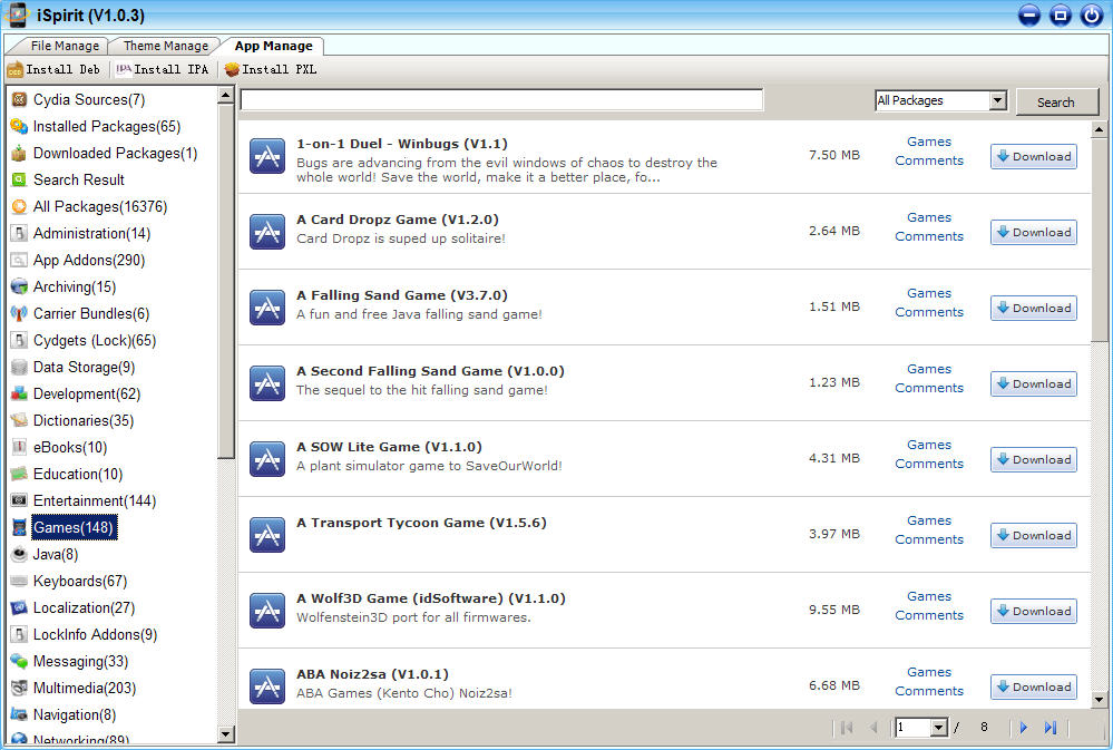 How to install/uninstall Deb files easily - ModMyForums