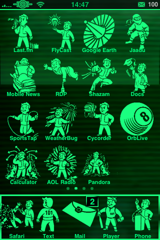 RELEASE] Fallout 3 Pipboy 3000 Theme in 4 colors - ModMyForums