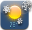 New Weather icons ---flake78.png