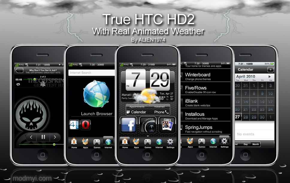 Released True Htc Hd2 With Real Animated Weather Modmyforums