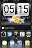 iPhone 4 / 3GS HTC Clock & Weather Widget-photo.png