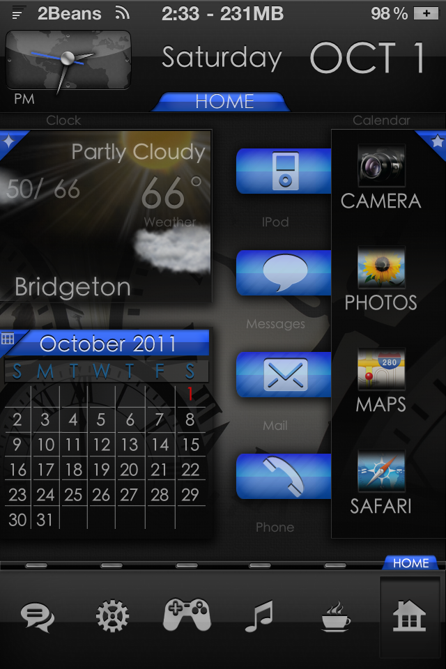 equix iphone 4 theme