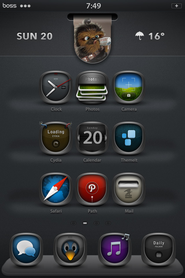 Bossios Now Available On Theme It App Modmyforums