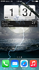 HTC Clock with Animated Weather iWidget for iPhone 5 and 6 IOS8!-img_0024.png