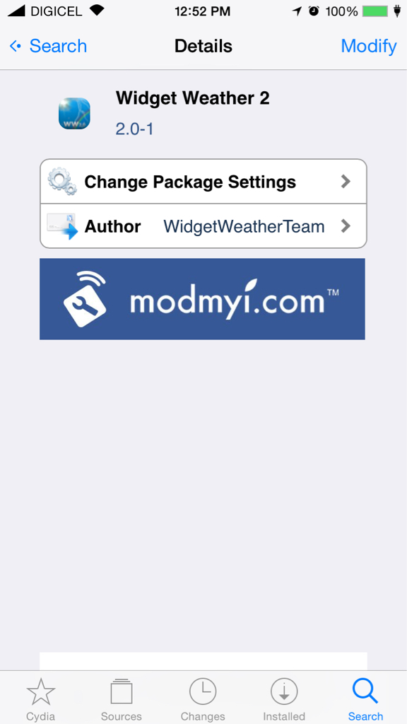WidgetWeather2 Now Available in Cydia! - ModMyForums