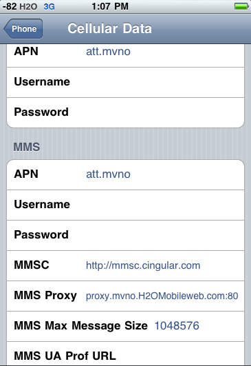 100% Working MMS on H2O Wireless - iPhone 4S - No Jailbreak