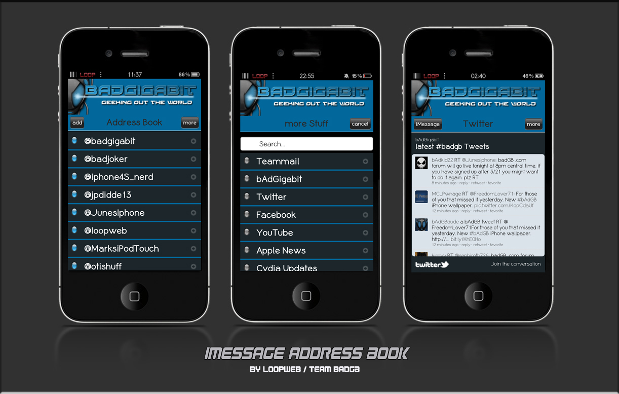 how to create your own imessage address book modmyforums